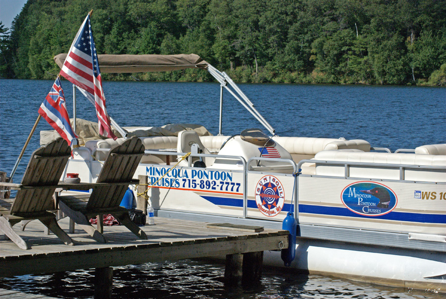 Minocqua Pontoon Cruises pontoon boat